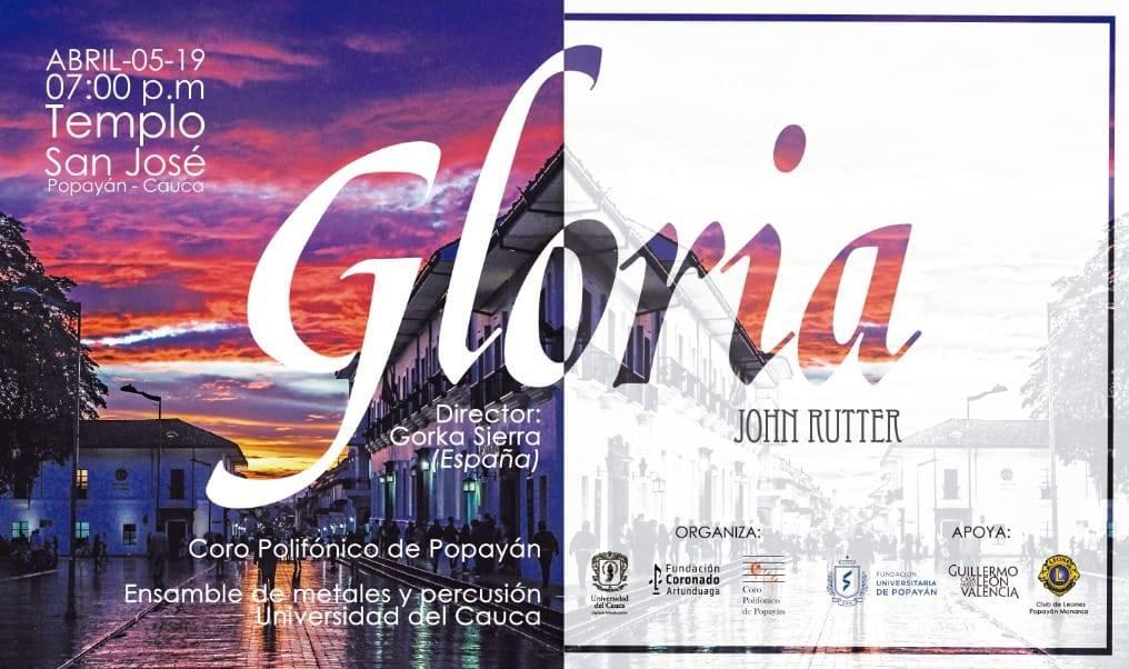 CONCIERTO «GLORIA» DE JOHN RUTTER